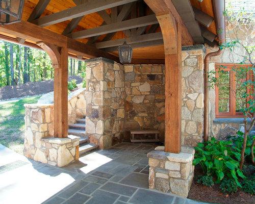 Stone Exterior Homes | Houzz
