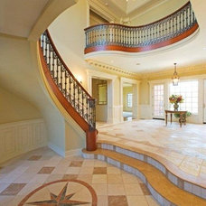Traditional Entry by Kennedy Tiles and Marble, Inc.