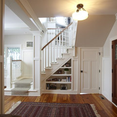 traditional staircase by Stonebreaker Builders & Remodelers