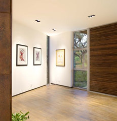 contemporary entry by Four Corners Construction, L.P.