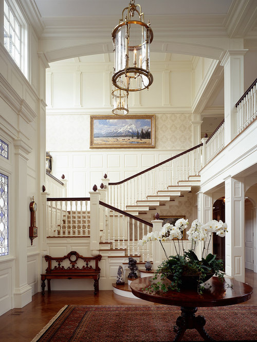 Foyer Stairs Reviews : Best foyer with stairs design ideas remodel pictures houzz