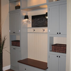 Eclectic Entry by Geneva Cabinet Company