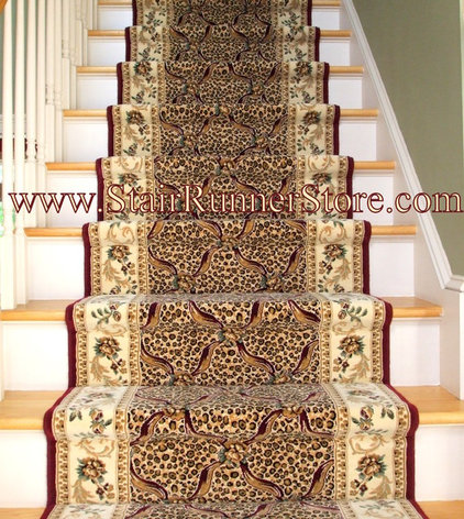 Traditional Entry by The Stair Runner Store - Creative Carpet & Rug LLC