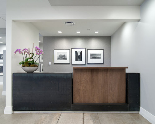 Corporate office entryway design ideas, remodels & photos