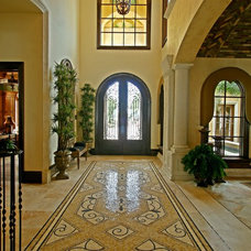 Mediterranean Entry by MJS Inc. Custom Home Designs