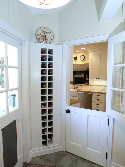 Glass dutch door houzz example of a small classic entryway design in los angeles with beige walls and a white planetlyrics Images