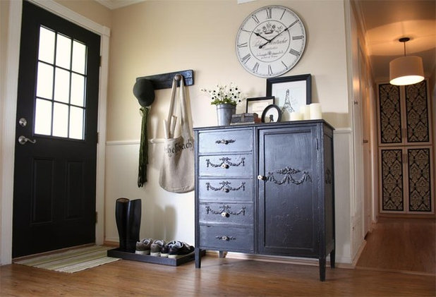 Traditional Entry by Jennifer Grey Interiors Design & Color Specialist