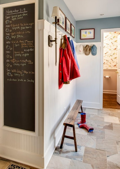 Traditional Entry by Kathy Bryles Interiors