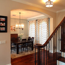 Traditional Entry by Devonshire Custom Homes