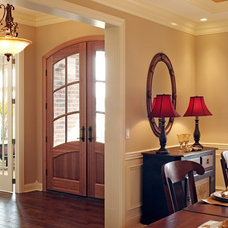 Traditional Entry by M.J. Coates Custom Homes