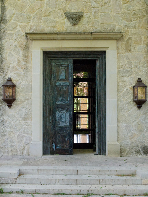 Mountain style entryway photo in Dallas & Old Spanish Doors | Houzz Pezcame.Com
