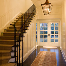 Modern Entry by Texas Construction Company