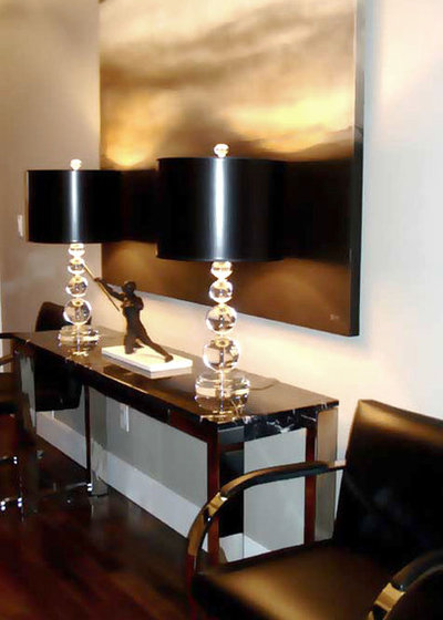 Contemporary Entry by Atmosphere Interior Design Inc.