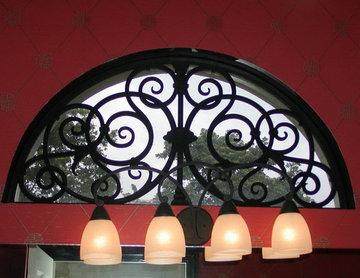 Tableaux® Faux Iron Window Transoms