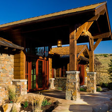 Rustic Entry by Phillips Development