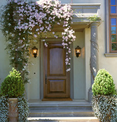 mediterranean entry by Taylor Lombardo Architects