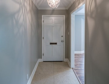 Terrazzo Floors and Updated Entry