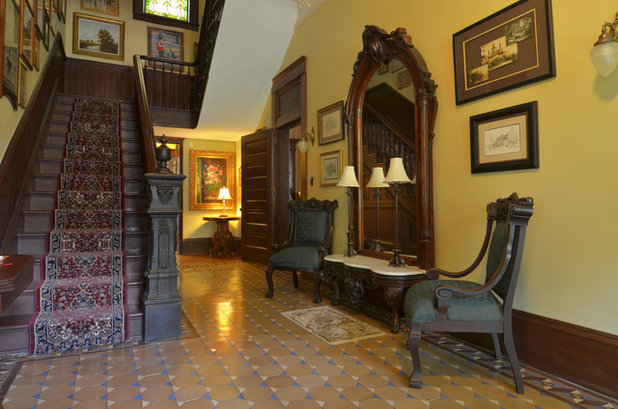 Victorian Foyer Xl : My houzz step inside a grand s victorian