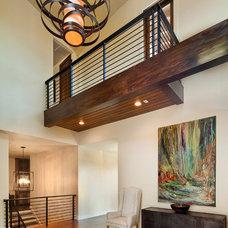 Modern Entry by Bella Villa Design Studio