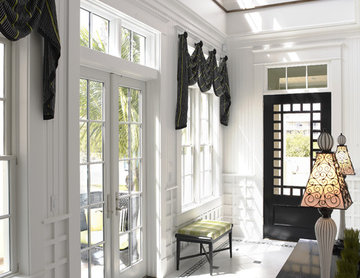 The Amber Front and Side Entrances by Alvarez Homes - Home Builders in Tampa FL