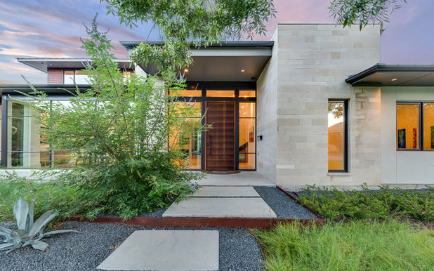 Contemporary Entry by Rosewood Custom Builders