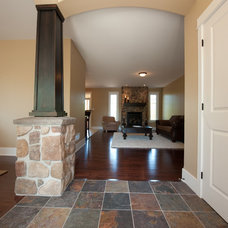 Traditional Entry by Luxart Homes
