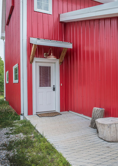 Farmhouse Entry by Authenticity, LLC