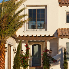 Mediterranean Exterior by John Cannon Homes