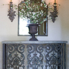 Traditional Entry by Laura S Mitchell Interior Design