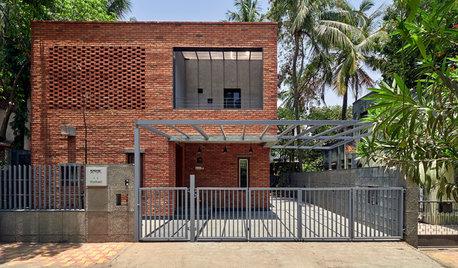Pune Houzz: This Brick Abode Balances Vastu, Simplicity & Elegance