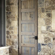 Rustic Entry by Linda McDougald Design | Postcard from Paris Home
