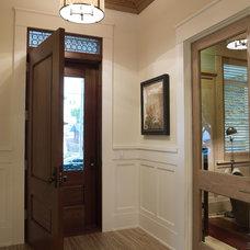Contemporary Entry by Alvarez Homes