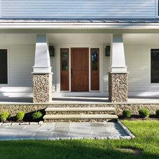 Farmhouse Entry by Meridian Design/Build