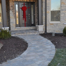 Traditional Entry by DJK Custom Homes