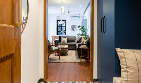 Chennai Houzz: A Compact, Elegant 3-BHK for a Young Family & 3 Cats