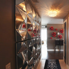 modern entry by Momentum Interiors