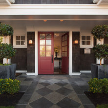 Traditional Entry by Kristi Spouse Interiors