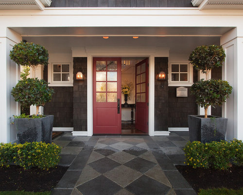 Ideas for staircase traditional design ideas with magnificent arch - Modern Front Doors Seattle Large Size Of Door Exterioror