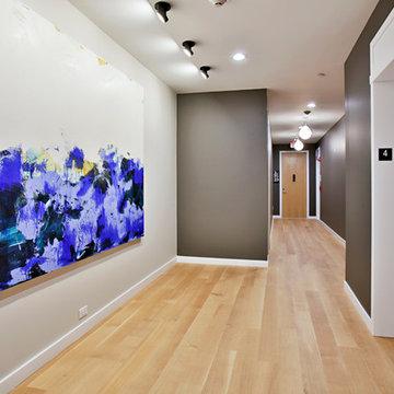The Jordan Lofts: Upper Hallway
