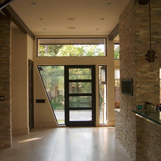 Modern Entry by Charles Todd Helton, Architect
