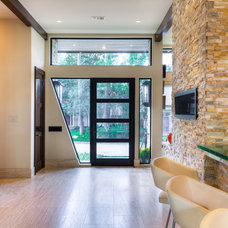 Contemporary Entry by Charles Todd Helton, Architect