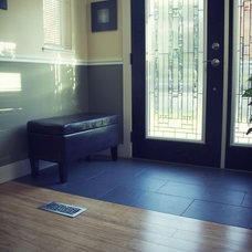 Contemporary Entry by Frontier Luxury Flooring