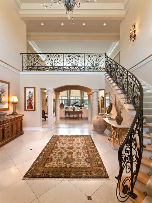 Grand Entrance Home Design Ideas Pictures Remodel And Decor