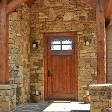 Rustic Entry by Buchanan Construction