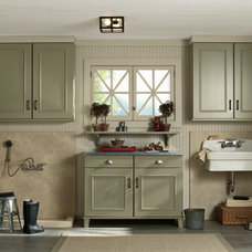 Traditional Entry by Mid Continent Cabinetry