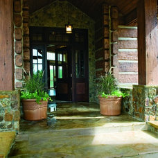 Traditional Entry by EverLog™ Systems: Worry Free Concrete Logs