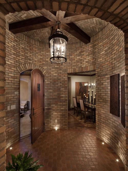 Mediterranean denver entryway design ideas remodels photos for David hueter home designs