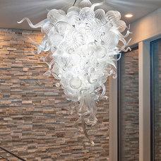 Contemporary Entry by Vidabelo Interior Design