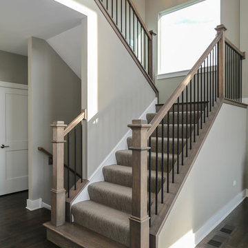 The Parker Model Home | Fieldstone at Grande Park Plainfield, IL