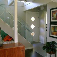 Modern Entry by crestviewdoors